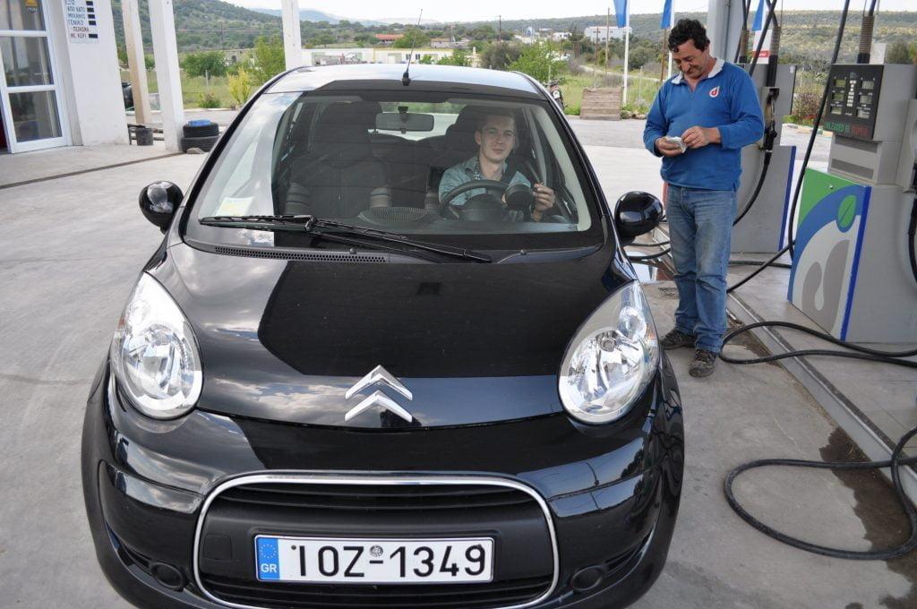 Midilli Benzin İstasyonu