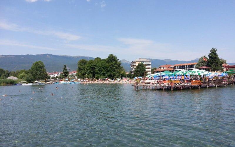 Struga-Ohrid-Makedonya