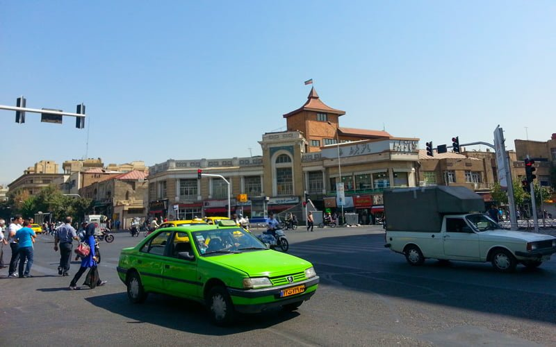 Tahran-Trafik