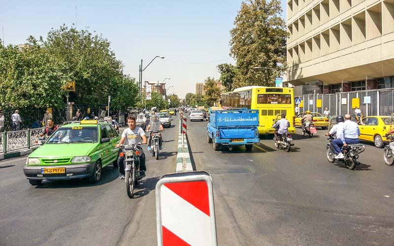 Tahran-Trafik-Sorunu