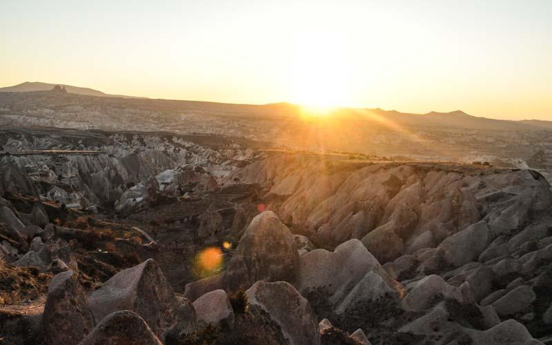 Kapadokya-Gun-Batimi