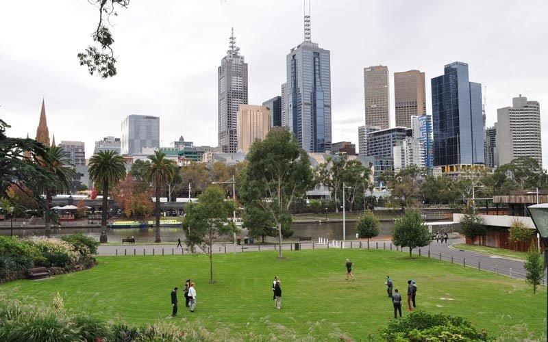 Melbourne-Yarra-River