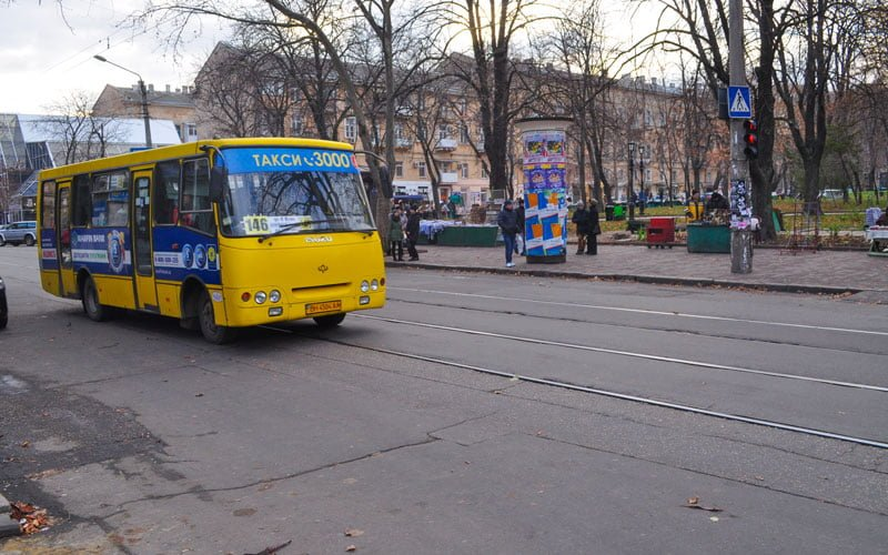 Odessa-Toplu-Ulasim