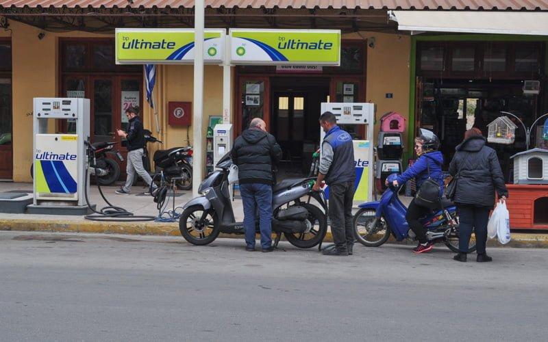 Yunanistan-Motosiklet