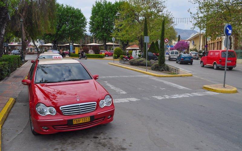 Yunanistan-Taksi