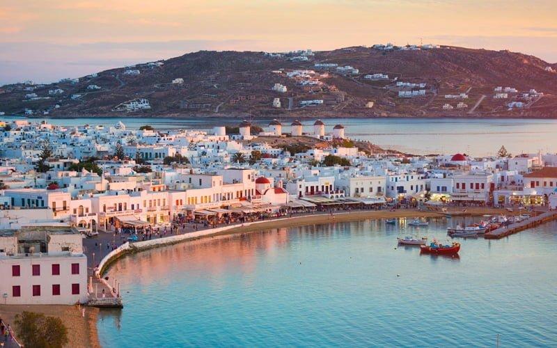 Mykonos-Yunanistan