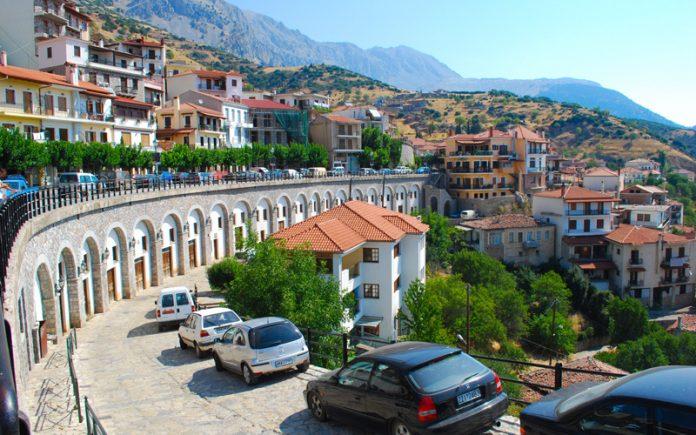 Arachova-Yunanistan