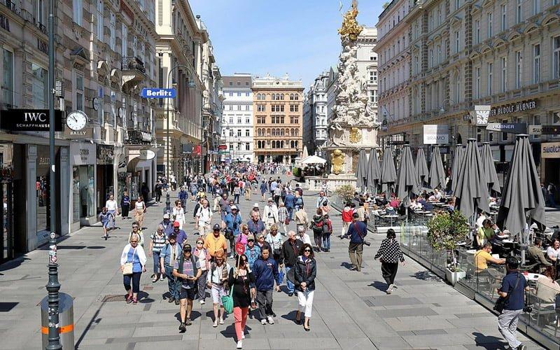 Graben-Caddesi-Viyana