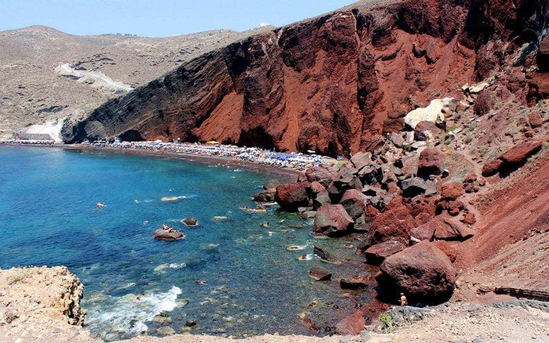 Santorini-Plajlari