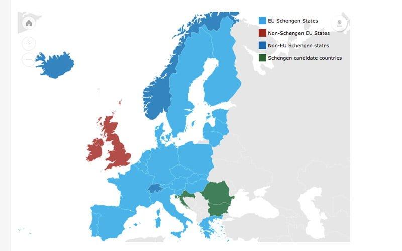 Schengen-Bolgesi