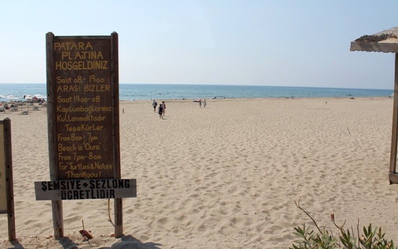 Patara-Plaji-Nerede