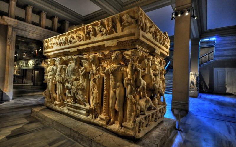 Istanbul-Gezilecek-Yerler-Arkeoloji-Muzesi