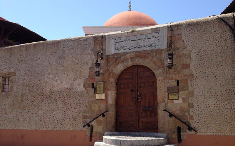Rodos-Old-Town-Hafiz-Ahmet-Kutuphanesi