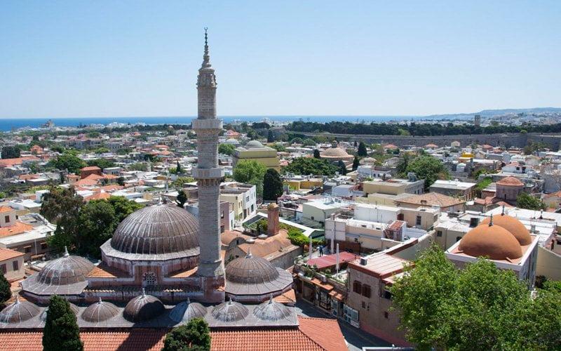 Rodos-Old-Town-Saat-Kulesi