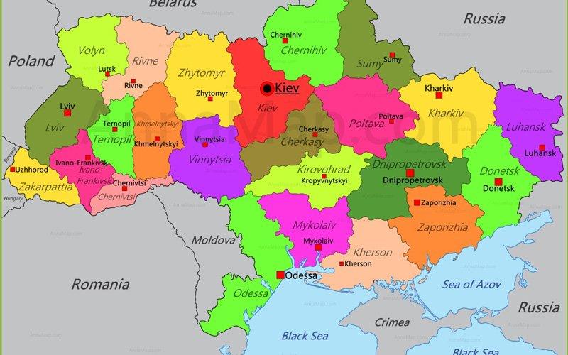 Ukrayna-Haritasi