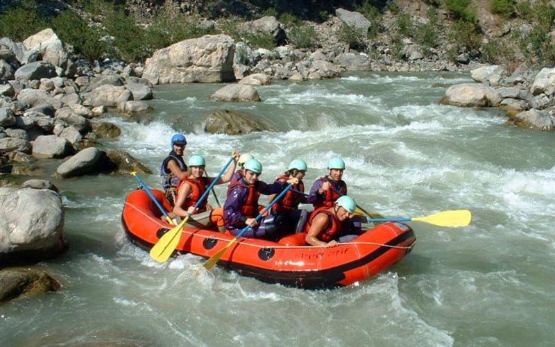 Saklikent-Rafting
