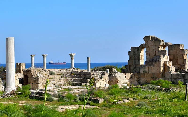 Kibris-Tatil-Yerleri-Salamis-Antik-Kenti