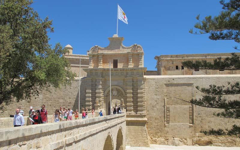 Malta-Gezilecek-Yerler-Mdina