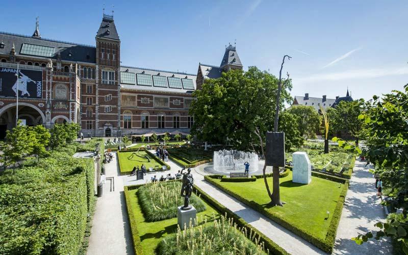 Rijksmuseum-Bahcesi