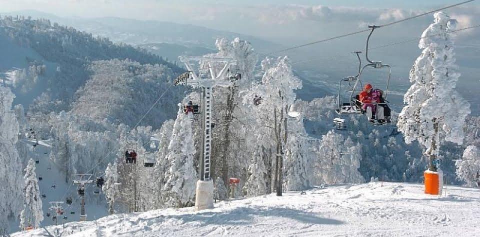 kışın kayak tatili yapılacak yerler